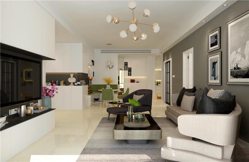 西安留白装饰分享客厅装修的实用设计