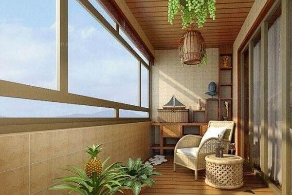 成都艺鲁装饰总结整理阳台装修注意事项