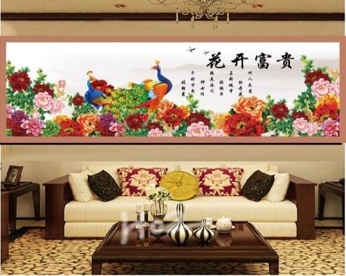 成都艺鲁装饰教您客厅沙发背景装饰画的选择诀窍