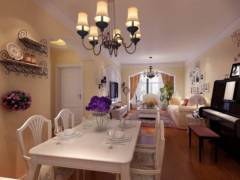西安东兴豪庭装饰分享:餐厅照明应该如何设计 不妨看看这里吧!