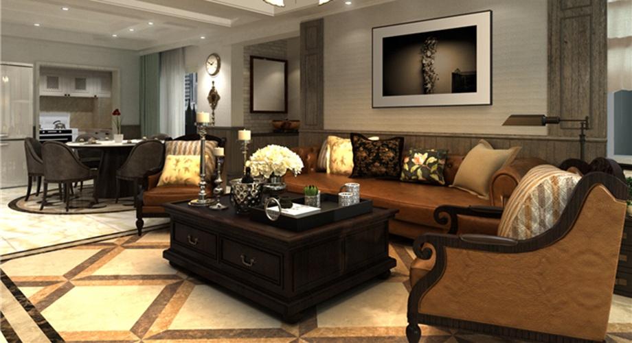 西安东兴豪庭装饰分享客厅怎样装修省钱又好看?