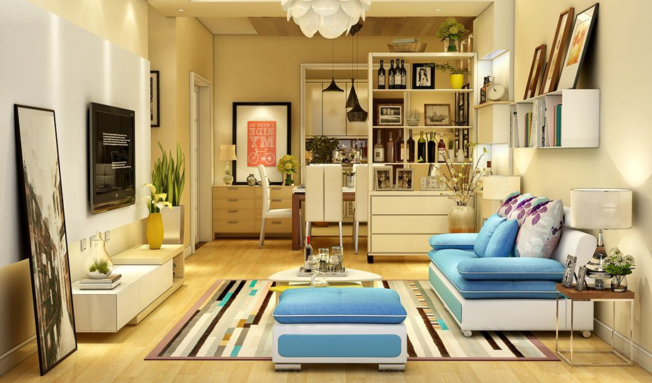 西安东兴豪庭装饰分享小户型的居室设计思路有哪些?
