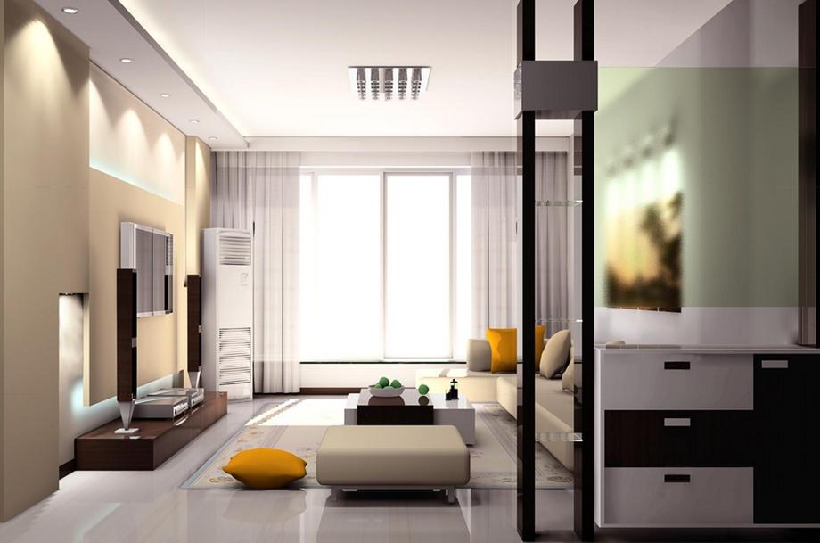 西安东兴豪庭装饰分享客厅怎样装修才好看?