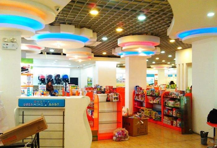 广州钰王装饰分享母婴店装修都有哪些技巧呢?