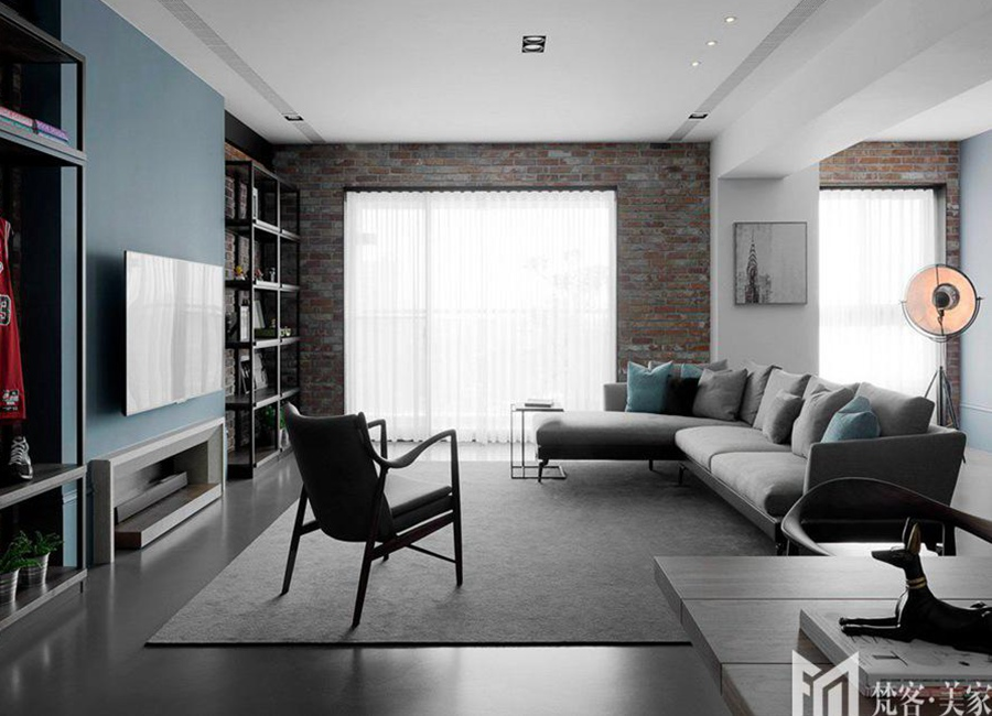 襄阳梵客美家装饰与您分享家居客厅墙面装修技巧和方法