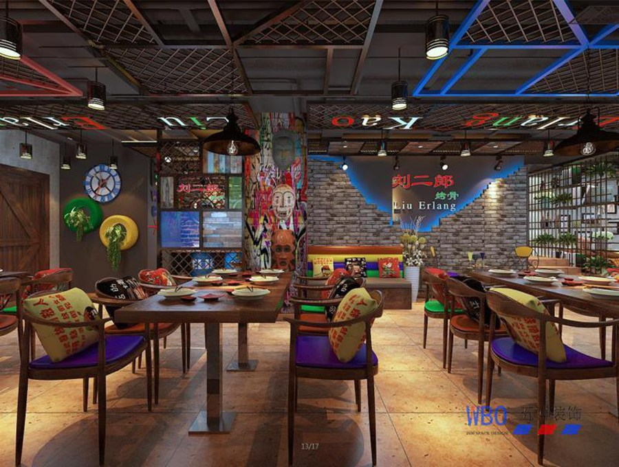 安徽五博装饰与您分享餐厅装修风格如何搭配
