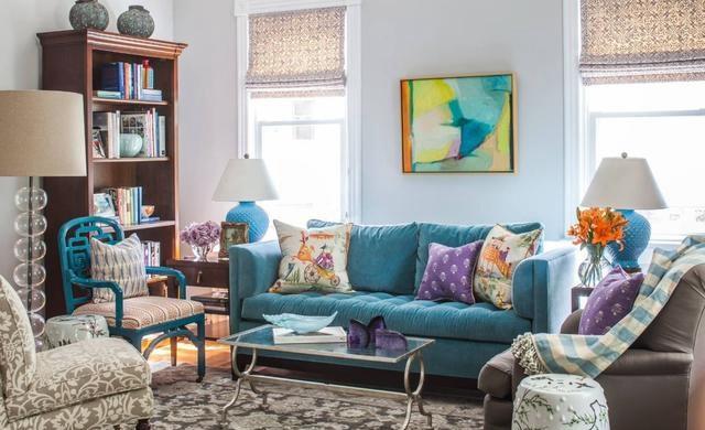 """""""客厅颜色的搭配""""何为最佳?其实你了解完这些就能做到"""
