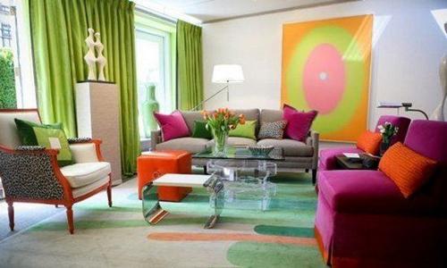 客厅装什么颜色最好看?客厅软装颜色搭配,别那么土了
