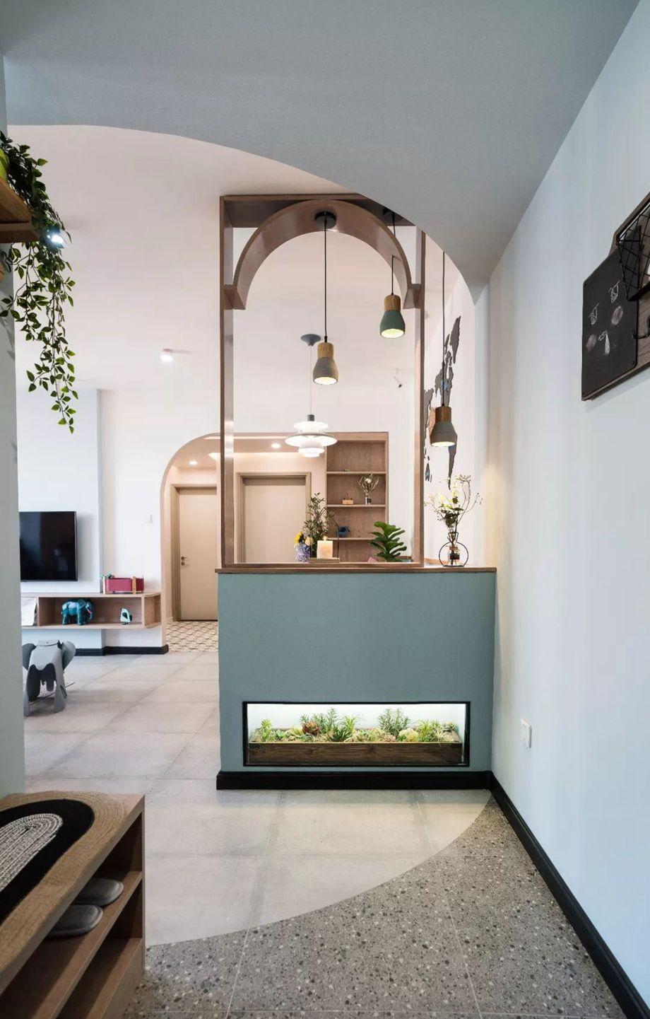 78平的小户型二居室,客餐厨放在一起,好宽敞啊!