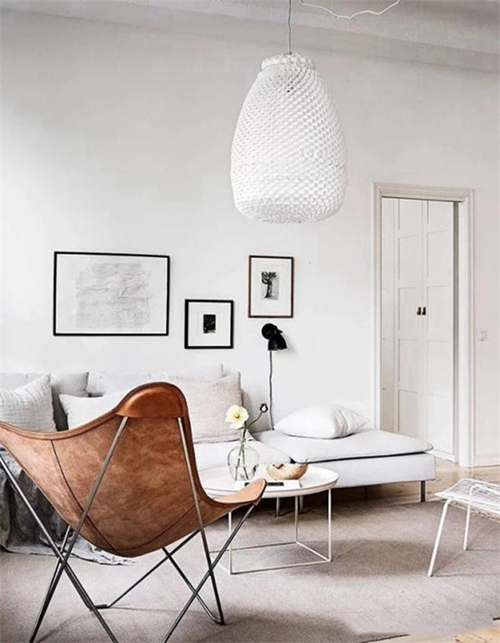 两种客厅照明设计方案,打造出明朗舒适居住环境
