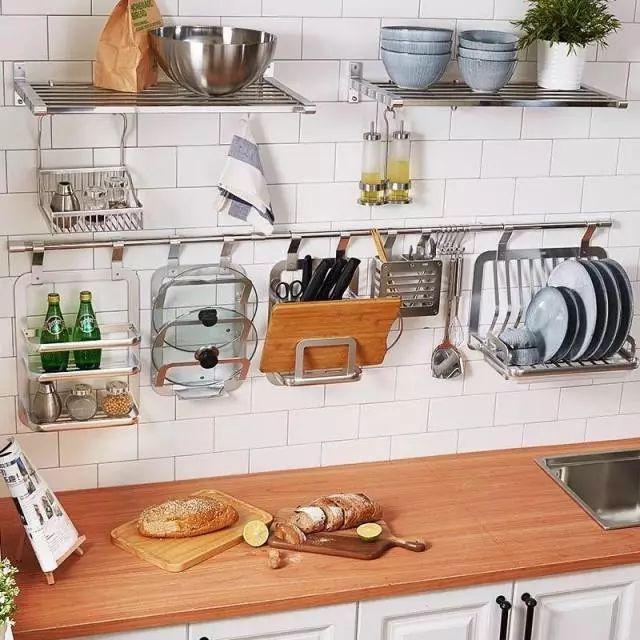 厨房居家收纳设计灵感,提高厨房的使用空间和做饭效率