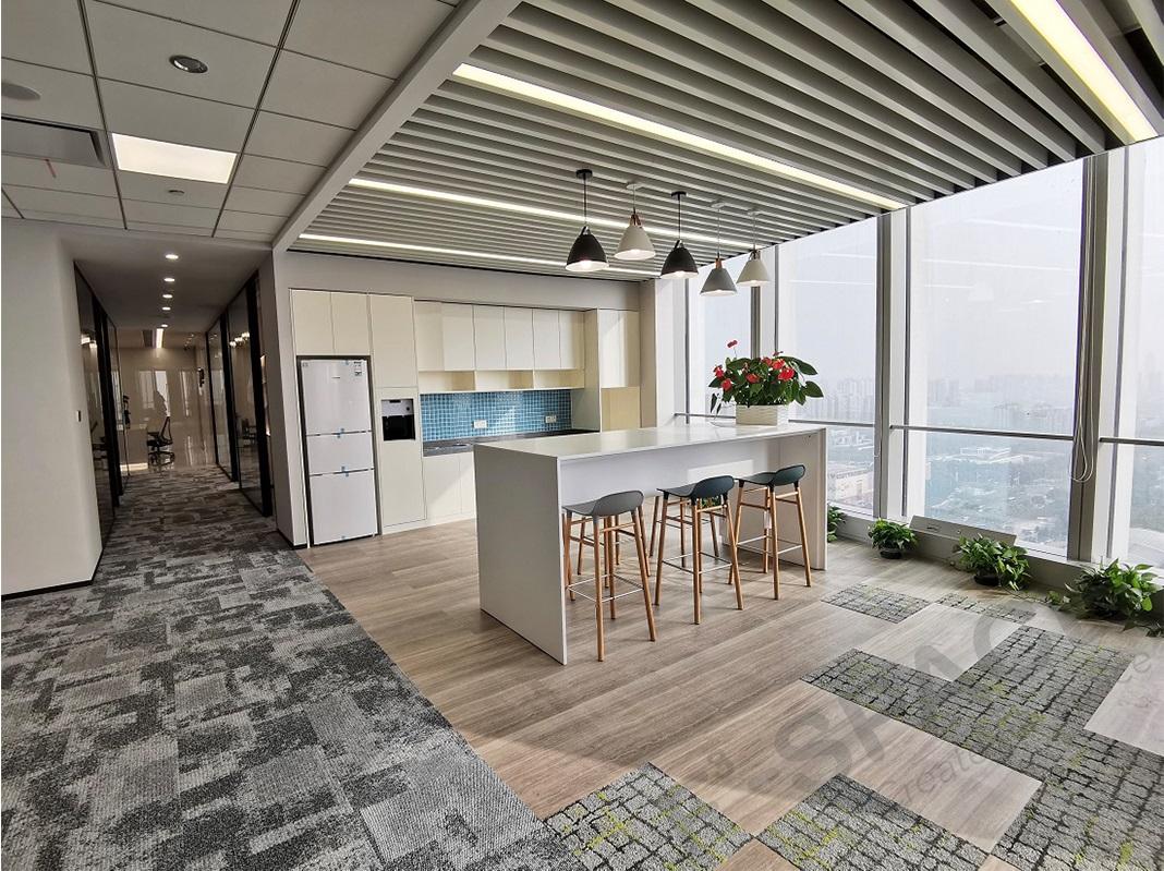 办公空间装修之社交休闲空间