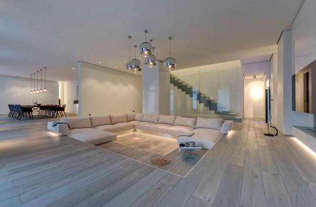 下沉式客厅如何装修设计?