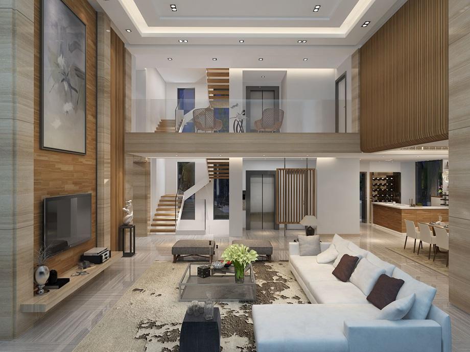 上海爱级装饰分享别墅装饰画应该怎么选择?