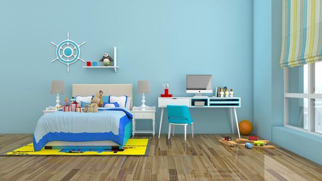 儿童房设计讲解 安心舒适都得到