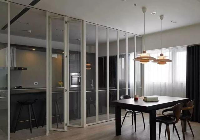 有种厨房门设计叫别人家的设计 不仅好看还实用