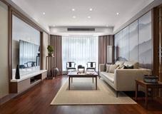 沈阳客厅翻新案例|新中式客厅,沙发这样搭!