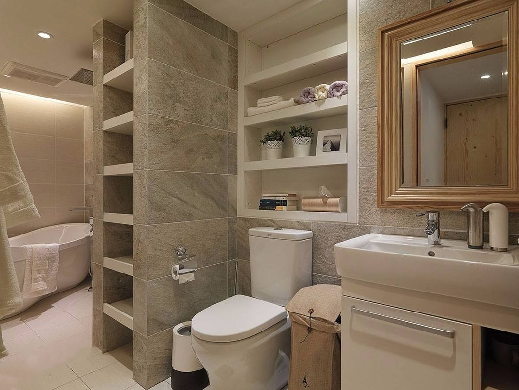 卫生间没有窗户?昆明优秀设计师提醒您装修时注意这5点