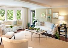 带飘窗的客厅怎么装修?四种设计方案让客厅飘窗实用满满