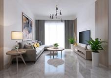客厅装修想要高级,电视墙就做对称设计!