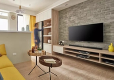 沈阳老房翻新案例|66㎡两室一厅老房翻新,北欧风格很暖!
