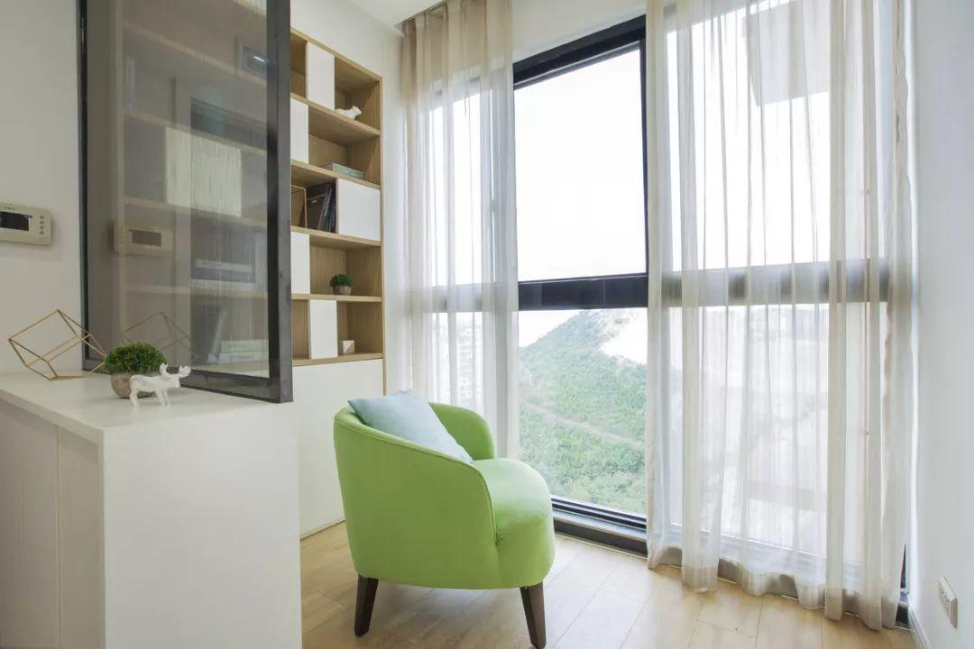110㎡北欧风格家居装修设计
