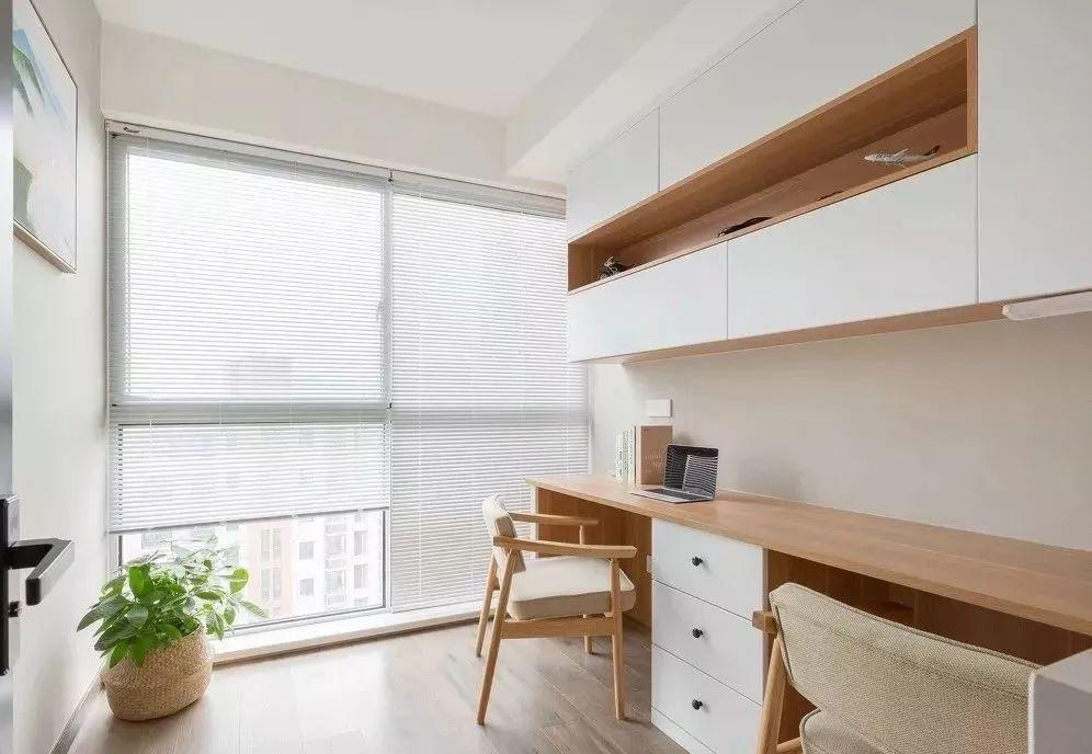 115㎡现代简约风格装修效果图,自然木色舒适惬意!