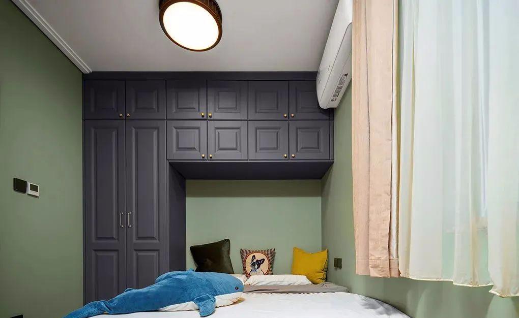 100㎡住宅复古精致室内装饰设计
