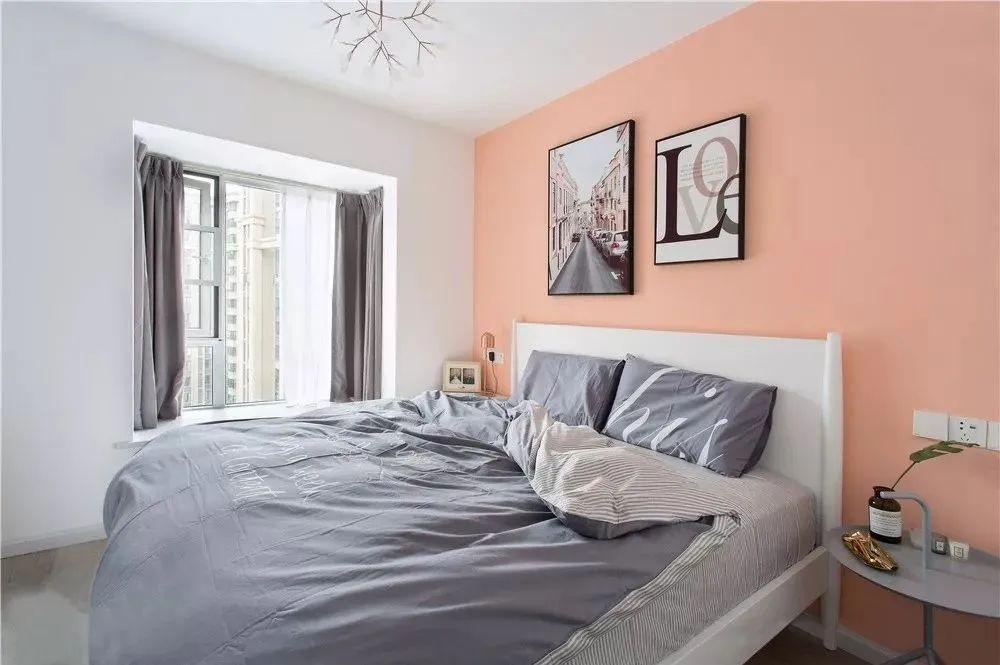 70㎡两居室小户型北欧风格装修,全屋定制家居,实用又温馨