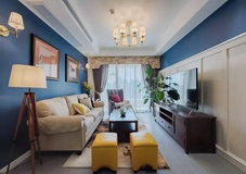 65平小户型二居室,美式混搭的小窝,厨房好喜欢!