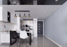 106平的復式大宅,以現代簡潔為底,加入時尚的軟裝!