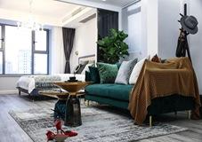 55平方現代輕奢風單身公寓,就是要超有格調